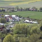 Aerial view Country Fair