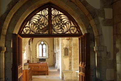 Comper's woodwork in the South Aisle