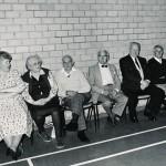 Village Hall Dance spectators