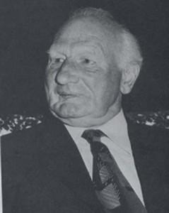 Herbie Goddard 'Mayor' of East Meon