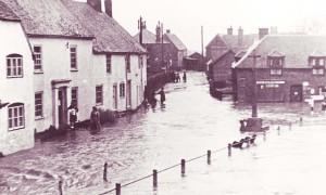 Barnards flooded