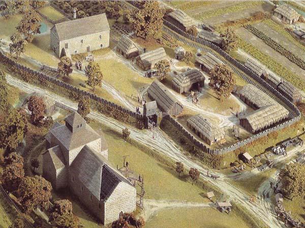 Anglo Saxon farming