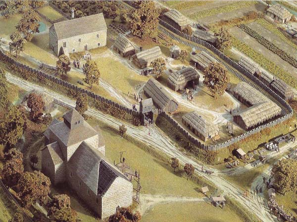 Model of Norman East Meon