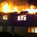 On March 28th 2013, Brook Cottages and Hockley were destroyed by fire