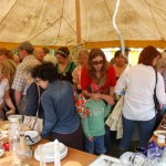 Bric a brac stall at Country Fair