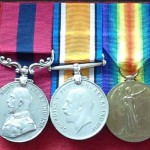 Medals awarded to Edward Bone
