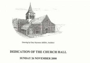 Dedication of Church Hall