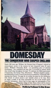 Sunday TImes Domesday Exhibition