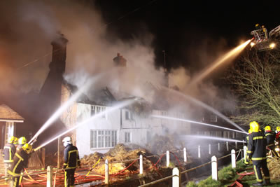 Fire Destroys Three Cottages East Meon History