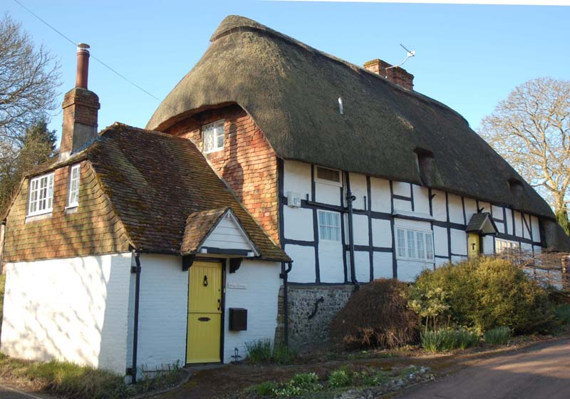 Forge Cottage from the High Street