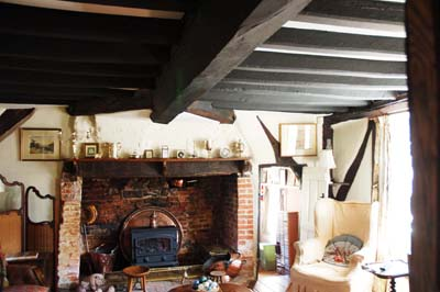 Forge Sound Sitting Room With Inglenook Fireplace