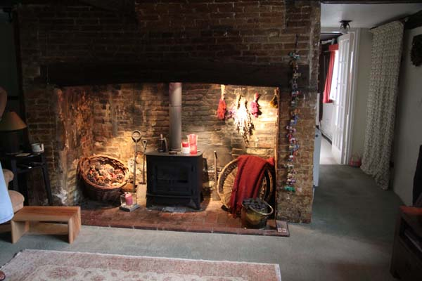 Forge Cottage Fireplace And Stove Smaller East Meon History