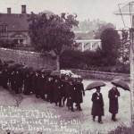 Funeral of E.A.J.Potter, photo Cobbett, May 26 1911
