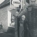 Petrol pumps at Goddard Garage