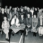 Celebrating 25 years of over 60s club. Picture includes