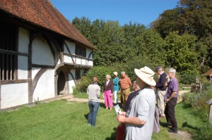 East Meon History Group visiting the Weald and Downland Museum in September 2012