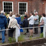 Guided walk outside Glenthorne House