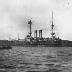 HMS Vengeance, on which Robinson was serving at Gallipoli