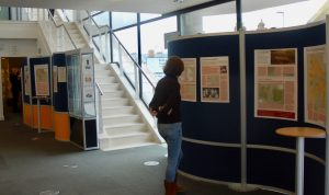 House Histories exhibition in the Hampshire Record Office, 2014