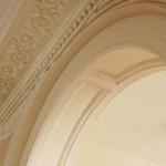 Cornice in hallway