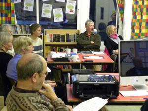 History Group members at Oral History workshop