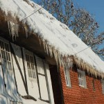 Icicles on Brook Cottages