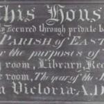 Institute sign 1887