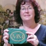 Jane with the keystone Millennium oval