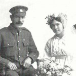 Marriage of May Christmas to Jack Barratt, October 1st 1918