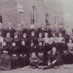 Methodist chapel group c1893