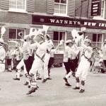 Morris Dancing outside the New Inn