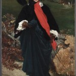 Portrait of May Sartoris by Frederic Leighton