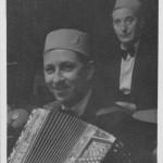 Musicians wearing fezzes