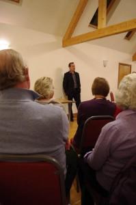 Nick Barratt speaking on House Histories