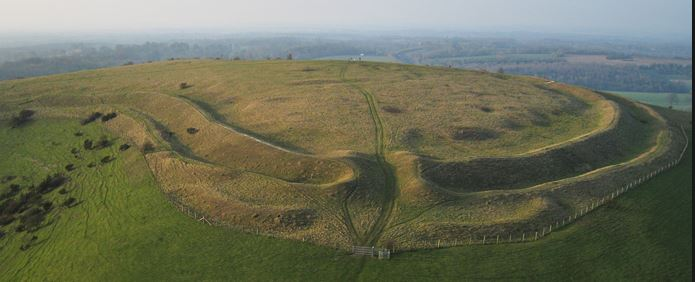 Old Winchester Hill Iron Age Fort