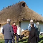 In September 2017, the group visited Butser Ancient Farm