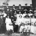 The wedding of Owen Budd