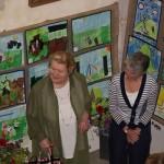 Patricia Routledge CBE and Clare Bartlett
