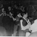 People dancing at a New Years Eve Dance, 1951