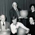 Garden Club Presentation of pots