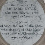 Richard Eyles (d1788) and Mary