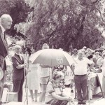 Sir Alec Douglas-Home opening Church Fete