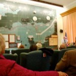 The room at Southwick, where the D-Day landings were planned