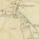Frogmore shown in the map drawn up as part of the Tithe Apportionments,1852,
