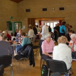 Cream teas in the Village Hall