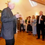 Terry Louden, vicar, speaking/