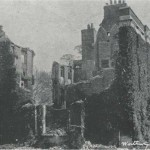The morning after the catastrophic fire which destroyed Westbury House in 1904. Report from The Times.