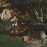 Chapel in Leighton painting