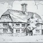 Early print of Punsholt House