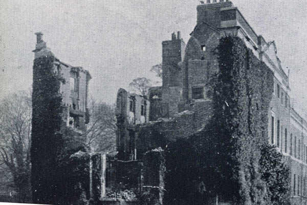 Westbury House burned